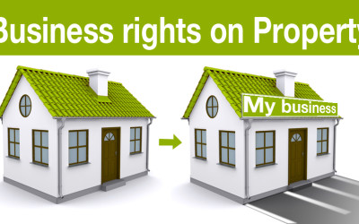 Business rights on Property